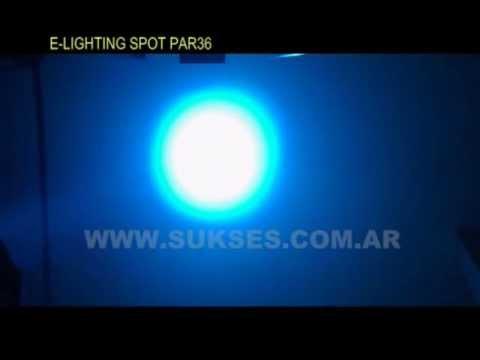 SUKSES.COM.AR / SPOT LED PAR 36 E-LIGHTING