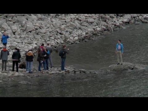 Βουδαπέστη: Σε ιστορικά χαμηλά επίπεδα η στάθμη του Δούναβη…