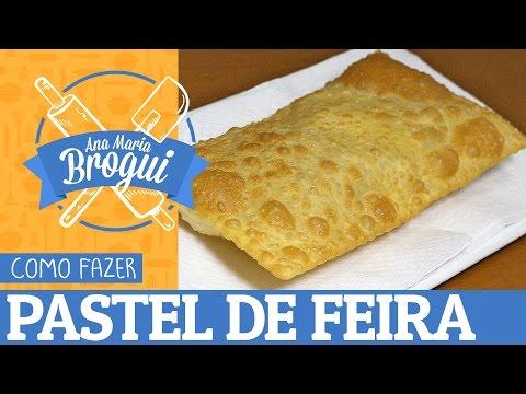 Receitas Doces - COMO FAZER PASTEL DE FEIRA  Ana Maria Brogui #123