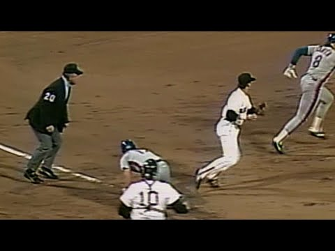 Video: Red Sox botch rundown on grounder in 1st in '86 WS