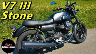 7. 2018 Moto Guzzi V7 III Stone  4k  (EN/DE Subs)
