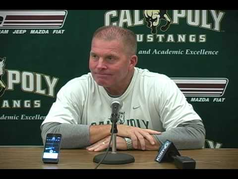 Cal Poly Head Football Coach Tim Walsh