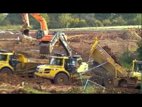 Volvo earth movers
