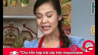 Món Ngon Mỗi Ngày - Chả giò trái cây xốt sầu riêng