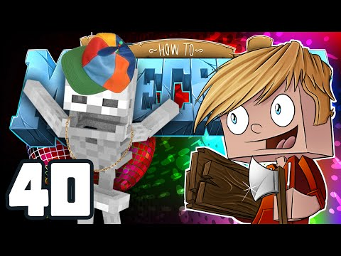"Minecraft: HOW TO MINECRAFT! ""DJ Skellex Music Disk Farm"" Episode 40 (Minecraft 1.8 SMP/Lets Play!)"
