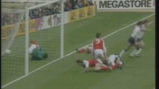 Gary Linekers Doppelpack gegen Arsenal (FA Cup Semifinale 1991)