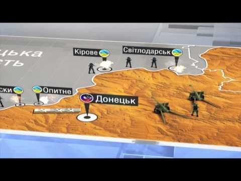 Двое бойцов АТО попали в плен у Марьинки