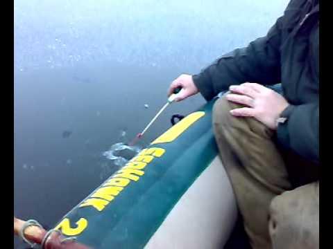 как привязать лодку на ночь