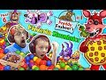 Download Video FNAF 6 Pizzeria Simulator! Ball Pit Balls, Pizza & Jump Scares = BEST DAY EVER w/ FGTEEV Chase