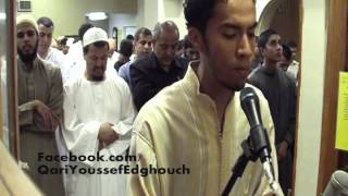 USA Taraweeh 2012 (Night 7, Al-An'aam) Qari Youssef Edghouch
