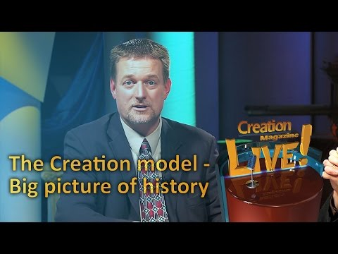 The Creation model (Creation Magazine LIVE! 4-22)