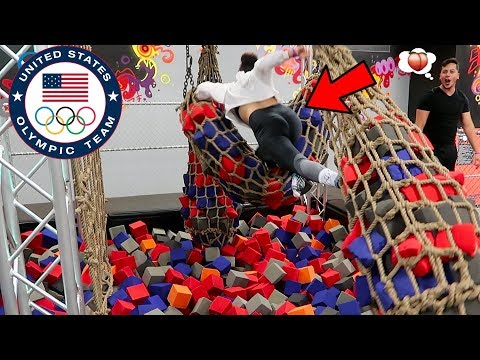 TRAINING FOR THE OLYMPICS *DANGEROUS STUNTS PERFORMED!*