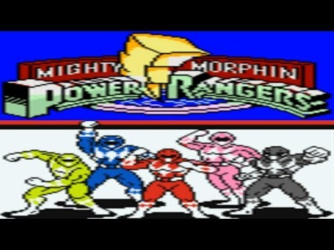 mighty morphin power rangers game boy music