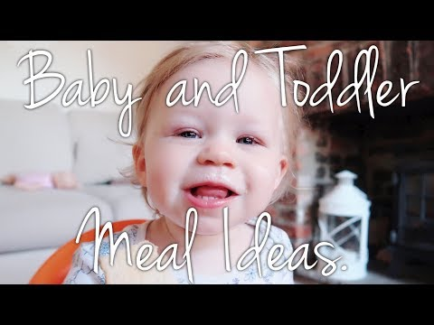 QUICK AND EASY BABY AND TODDLER MEAL IDEAS | COLLABORATION W/BERMUDA BABY AND ME.