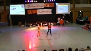 Franziska Schmidt & Paul Weiland - Schwäbische Meisterschaft 2013