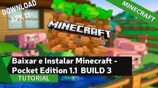 Minecraft – Pocket Edition v1.1 android apk , última versão 1.1 MCPE android, apk Minecraft PE versão completa 1.1 , Minecraft pe 1.1 apk, versão beta pe 1.1, baixar minecraft mcpe 1.1, download minecraft pe 1.1 Oficial. Confira a mais nova atualização do minecraft PE no canal MD Tutoriais.___________________________________________________________✔ SE GOSTOU DO VÍDEO, DEIXE SEU LIKE!• Download do Minecraft: http://bit.ly/2pgUMlh•Meu WhatsApp: 83 986511033✔ INSCREVA-SE____________________________________________________________• Grupo no Facebook: https://www.facebook.com/groups/mdtut...• Página do Facebook: https://www.facebook.com/mdtutoriais• Twitter: https://twitter.com/MDTutoriaisbr• Google +: https://plus.google.com/u/0/+MatheusD...• Email (Contato Profissional): mddownscontato@hotmail.com• Meu Site: http://www.melhordownload.com• Curtiu o vídeo? DEIXE SEU LIKE E FAVORITO! ____________________________________________________________✔ ParceirosSeja nosso Parceiro!✔ Horário dos Vídeos:• Terça - (18:00hr)• Quinta - (18:00hr)• Sábado - (16:00hr)