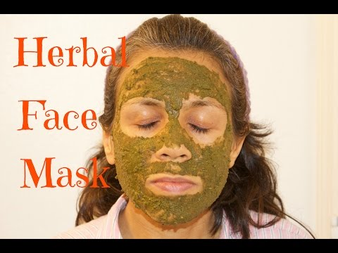Herbal Antioxidant Face Mask for Glowing Skin