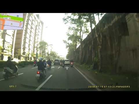 台北市 明水路 汽機車 車禍