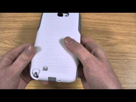 Galaxy Note 2 Otterbox Commuter Case Review