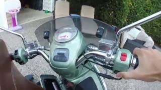 5. 2011 Vespa GTV 300ie won't start