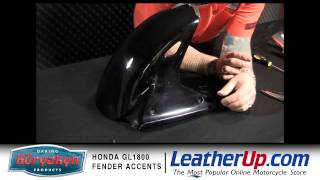8. Kuryakyn Shark Tooth Fender Accents for 2001-2010 Honda GL1800 Gold Wing at LeatherUp.com