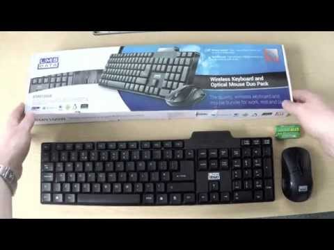 Dynamode Wireless Keyboard and Mouse short review