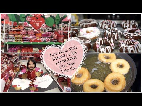 Cuối Tuần Làm Bánh DONUT ♥ Đi Target & Chuẩn Bị Cho Valentine Ở Trường | mattalehang - Thời lượng: 18 phút.