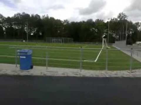 Hardloopbaan sportpark De Zanderij