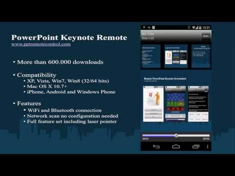 Video of Remote for PowerPoint Keynote