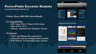 Remote for PowerPoint Keynote YouTube video