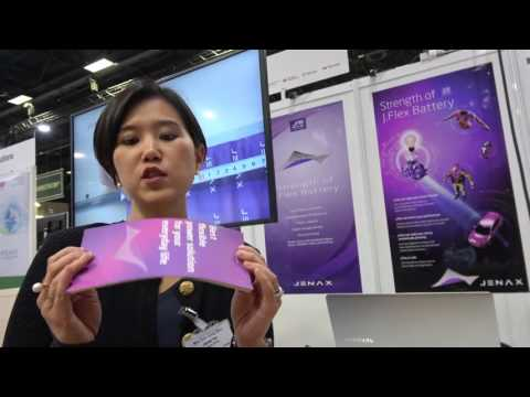 Bendable Li-Ion Rechargargeable Battery