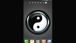Feng Shui Yinyang BW LWP YouTube video