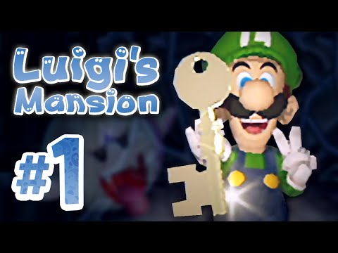 luigi's mansion gamecube solution