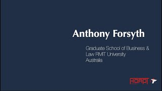 #GTL2019 - Interview with Anthony Forsyth