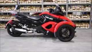 5. 2008 Can Am Spyder GS Roadster with SE5 Transmission Parts