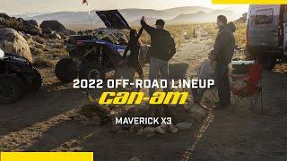 Can-Am Off-Road 2022 – Maverick X3 Family