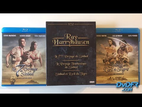 Unboxing : Coffret Blu-ray Sinbad / Ray Harryhausen