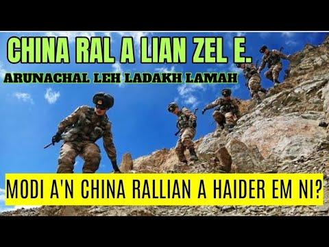 China ral a Lian zel, Ladakh Arunachal lamah an in bengbel zel