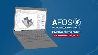 AFOS Anchor Design Software | Overview