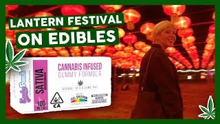 EATING EDIBLES at Chinese Lantern Festival (100MG) by That High Couple