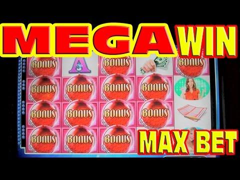 Powerball * MAX BET MEGA BIG WIN * Slot Machine HUGE 95 SPIN BONUS