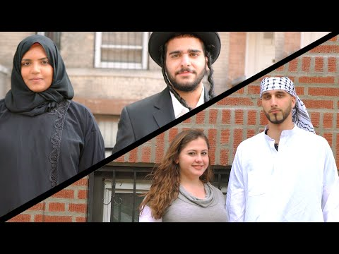 Video: How People React to a Muslim / Jewish Couple