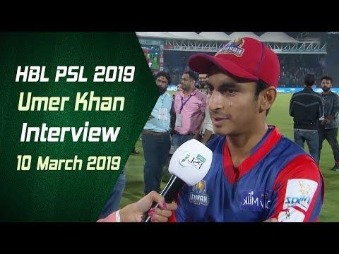 Umer Khan Interview | 10 March | HBL PSL 2019 - Thời lượng: 2 phút, 9 giây.