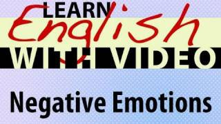 Negative Emotions Lesson