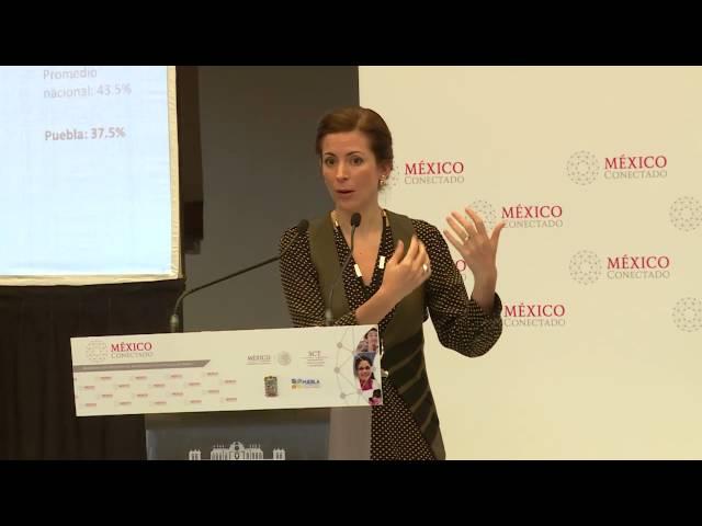 Firma de Convenio entre México Conectado y Gobierno de Puebla