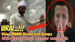 Video Viralll..Imam Mesjid,yang tetap Sholat saat Gempa,bikin Ustad Yusuf Mansur Nangis. MP3, 3GP, MP4, WEBM, AVI, FLV Mei 2019