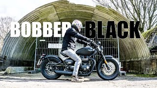 2. Triumph Bobber Black First Ride Review | Its AWESOME