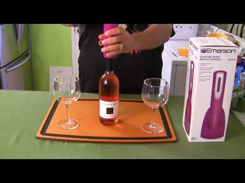 Electric Wine Bottle Opener – Product Review