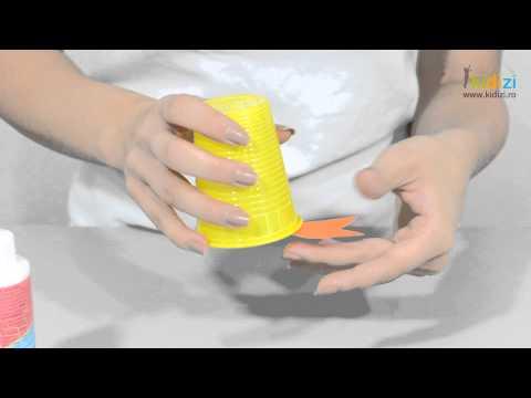 Cum sa confectionati ratuste din pahare de plastic