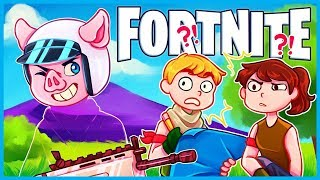 *HILARIOUS* INVISIBLE SKIN GLITCH in Fortnite: Battle Royale! (Fortnite Funny Moments & Fails)